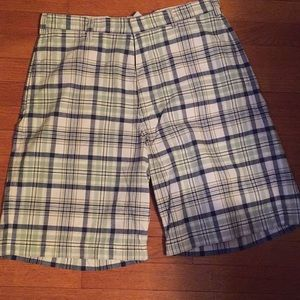American Eagle Plaid Shorts